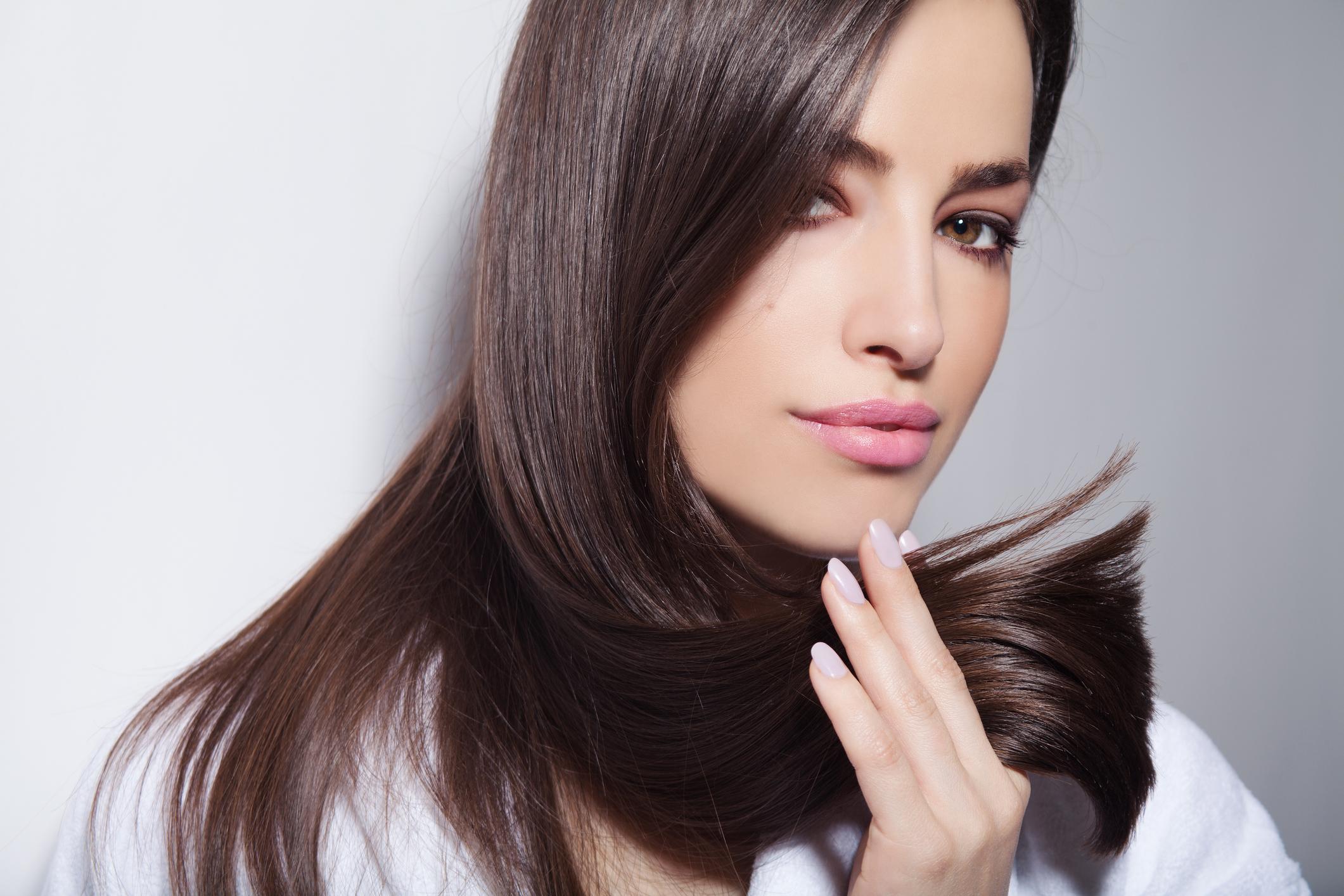 Narovnávání vlasů